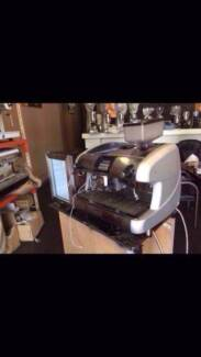 Fully Automatic Commercial Coffee Machine with Grinder and Fridge