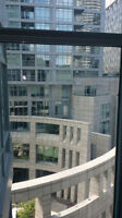 High end condo master bedroom for rent beside TTC station