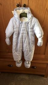 Hugo boss snow suit