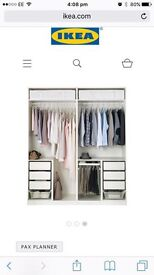 Ikea build your own wardrobes 2 of them