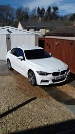 BMW 320i xDrive M Sport 4dr with extensive extras