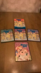 4 DVD's Family Guy