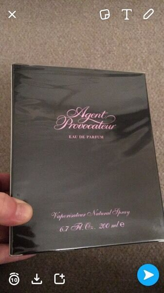 agent provocateur perfume 200ml