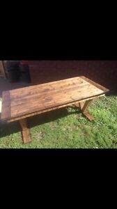 Farmhouse Dining Table - table only