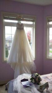 Designer Maggie Sottero wedding gown