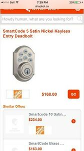 Brand new Weiser Smartcode lock touchpad keyless entry Kitchener / Waterloo Kitchener Area image 7