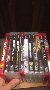 PS3 games in great condition or perfect for sale