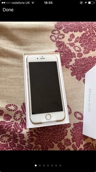 iPhone 6s 16gb gold boxed like new Vodafone network apple warrantyin Finaghy, BelfastGumtree - iPhone 6s 16gb gold boxed like new Vodafone network Basically new apple warranty remaining No longer being used as have another iPhone £400 ovno