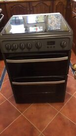 Hot point gas cooker