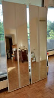 MIrror doors, excellent condition