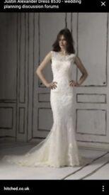 Justin Alexander wedding dress 8530