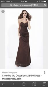 Christina Wu Gown *brand new* Color deep purple!! Gatineau Ottawa / Gatineau Area image 1