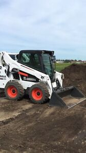 2013 bobcat s570 with attachments