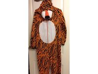 Men's tiger onesie size small