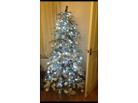 6ft frosted Christmas tree