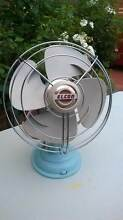 Vintage ELCON Baby Blue Retro Fan - works perfectly Croydon North Maroondah Area Preview