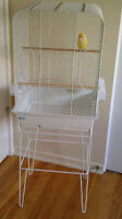 Hagen Small Parrot Cage Including Stand