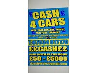 ££ cash 4 cars and vans same day collection best prices paid ££