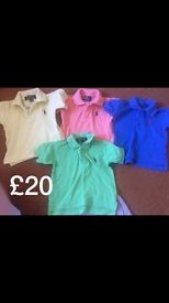 Baby boy clothes including Ralph Lauren over 100 items