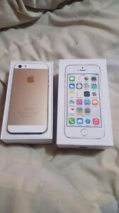 iPhone 5s with MTS in brand new condition no single scratch