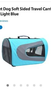 ISO soft sided pet carrier that's airline approved
