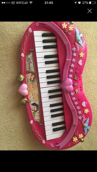 Princess piano keyboard
