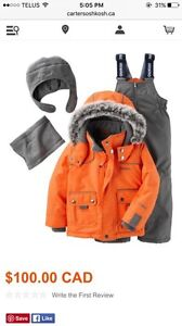 Oshkosh 18 months Boy snow suit combo