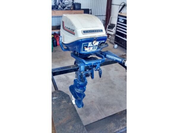Used 1972 Evinrude Fisherman 6hp
