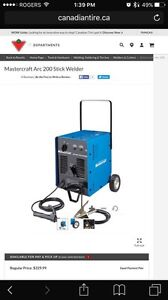 Mastercraft stick / arc welder