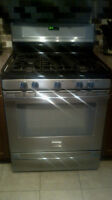Fridgedaire Gallery Series - Stainless Steel Gas Stove