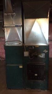 Newmac Wood Oil Combination Furnace