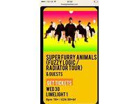 Super Furry Animals tickets 30/11/12 The Limelight Belfast