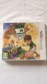 Ben 10 brand new 3DS game