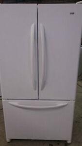 Refrigerator White - French Door DURHAM APPLIANCES LTD.