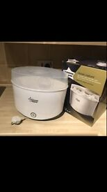 Electric steriliser tommee tippee with box