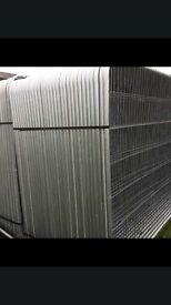 🔩 *New* Security Heras Style Fence Panels * 3.45 X 2M🔩