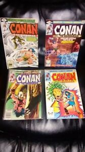 Conan the barbarian + red Sonja lot
