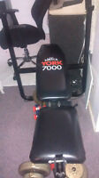 York 7000 Bench with Leg Extension