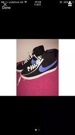 Nike blazers.