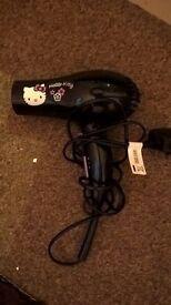 Hello kitty hair dryer
