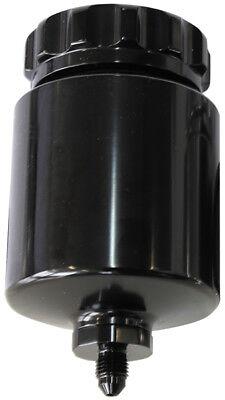 Aeroflow Billet Universal Remote Brake/Clutch Reservoir  Black Finish