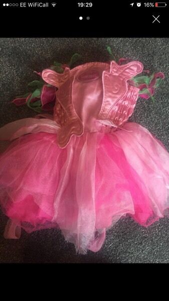 Barbie fairy dress 3-4 years