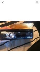 JVC KD R321 stereo with front aux port good condition