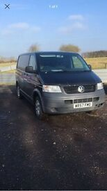 Vw transporter t5 kombi 2.5 tdi 174 bhp 6 speed07 57 Reg fully loaded