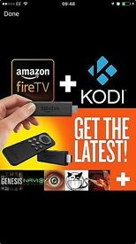 Amazon Fire Stick With Fully Loaded KODI 💥 TV SHOWS 💥 MUSIC 🎶 MOVIES 🎥 LIVE SPORTS ⚽️