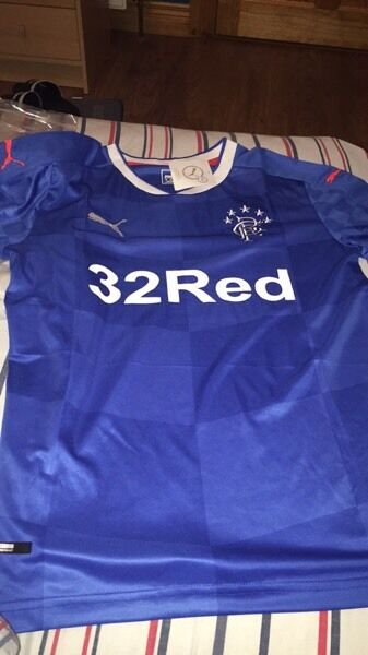 Rangers fc brand new home top