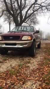 Ford F-150  open to trades on a sled as well