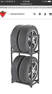 Tire shelves