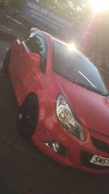 Corsa Vxr ,low millage , full upgraded leather heated seats flame red not fiesta bmw audi