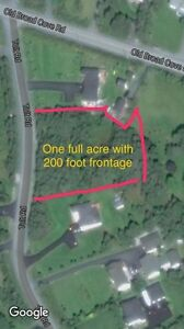 0ne Acre Ocean  View  Lot for Sale in Portugal Cove-St. Phillips St. John's Newfoundland image 2